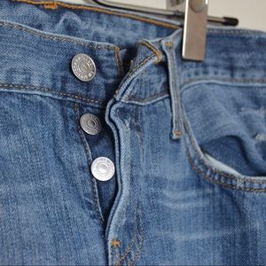 The 501 Levi Jeans